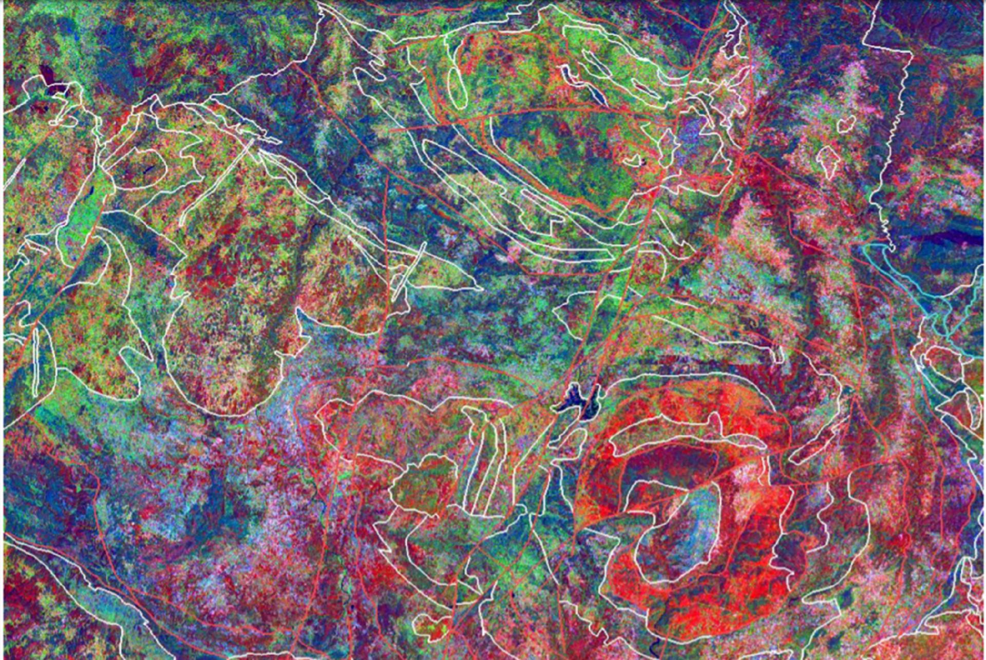imagem satélite Nordeste Portugal