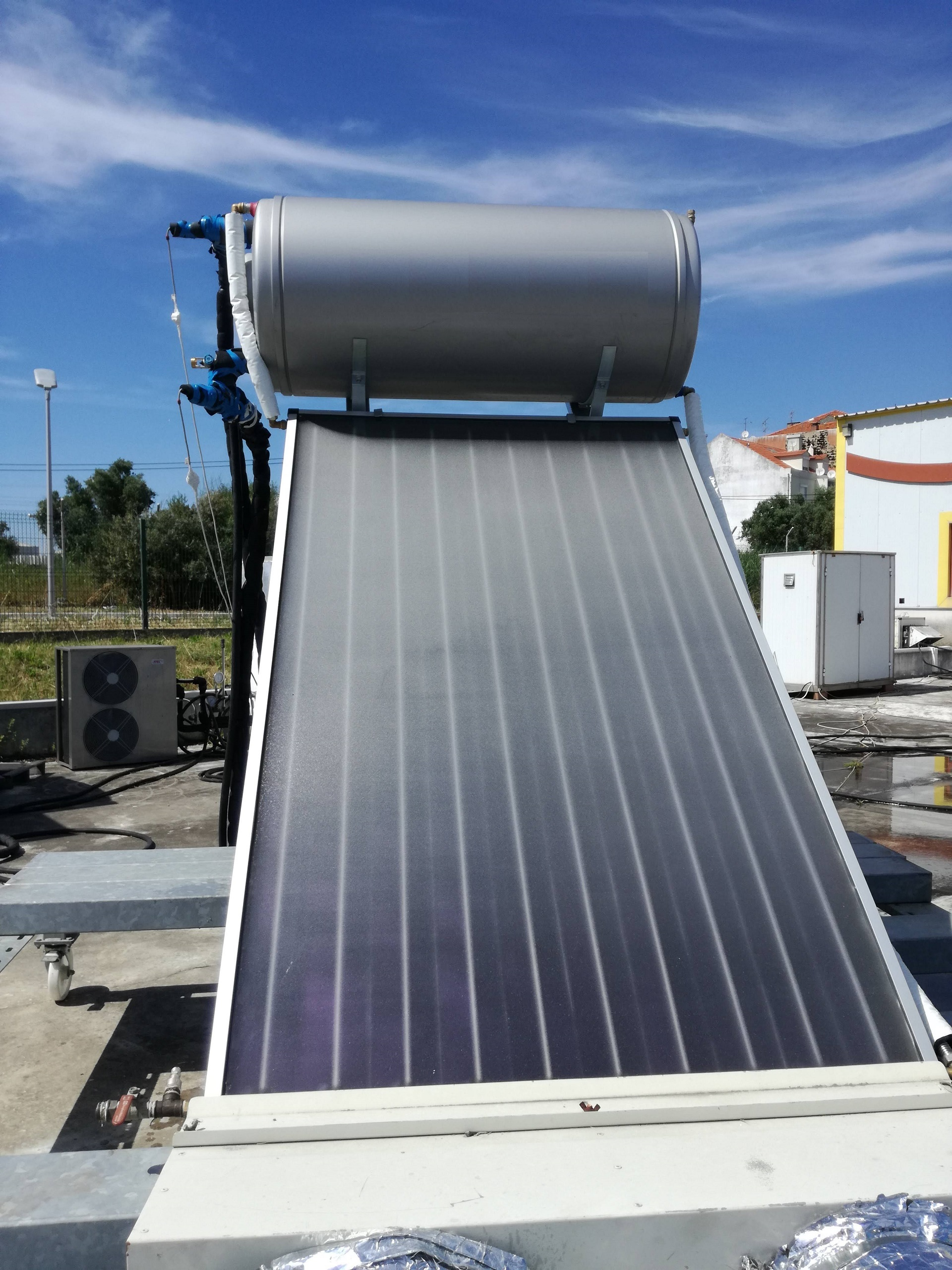 Solar thermal systems tests