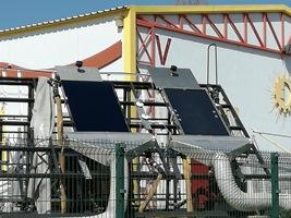 Ensaio de coletores solares térmicos