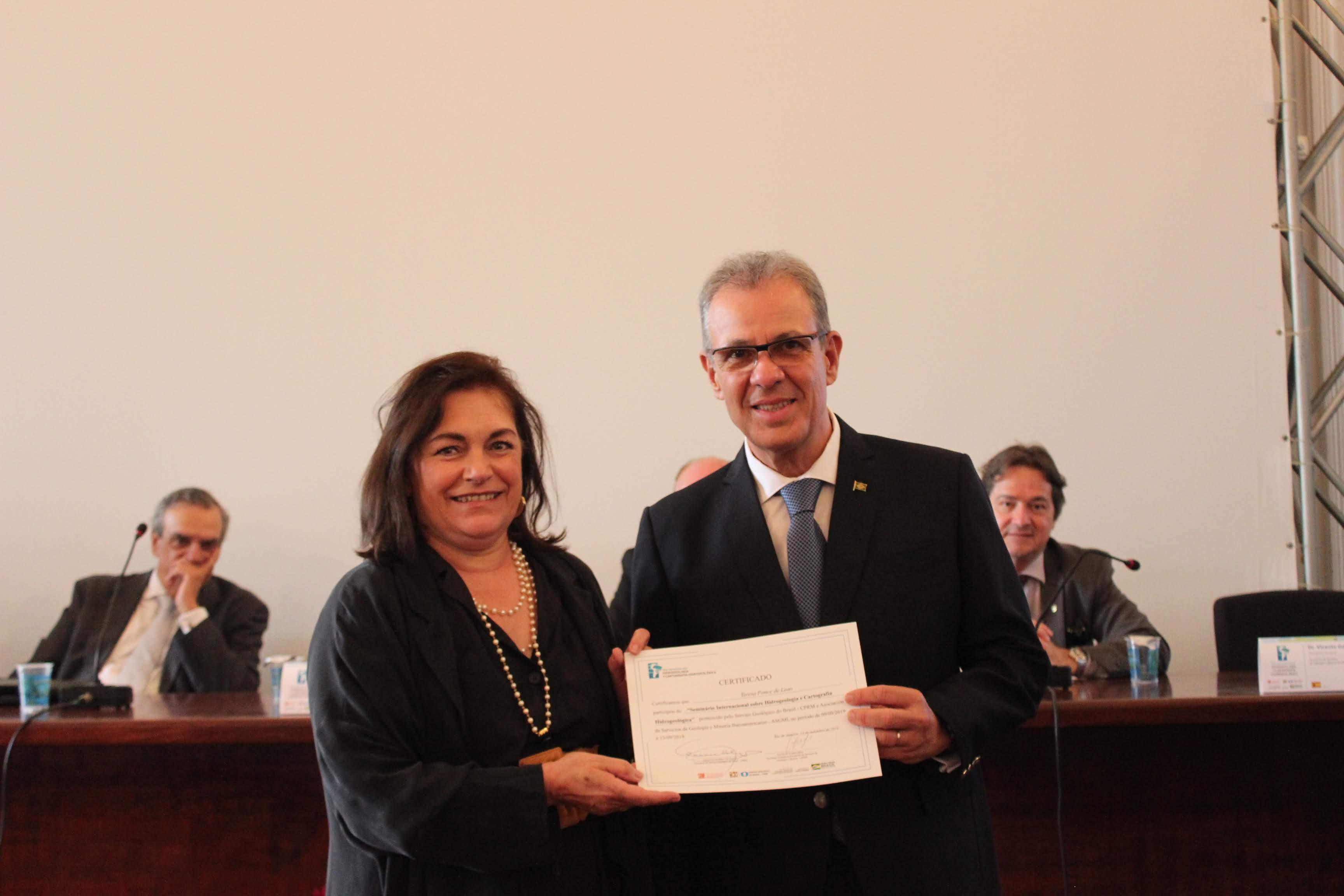 Presidente do LNEG e Ministro de Minas e Energia do Brasil