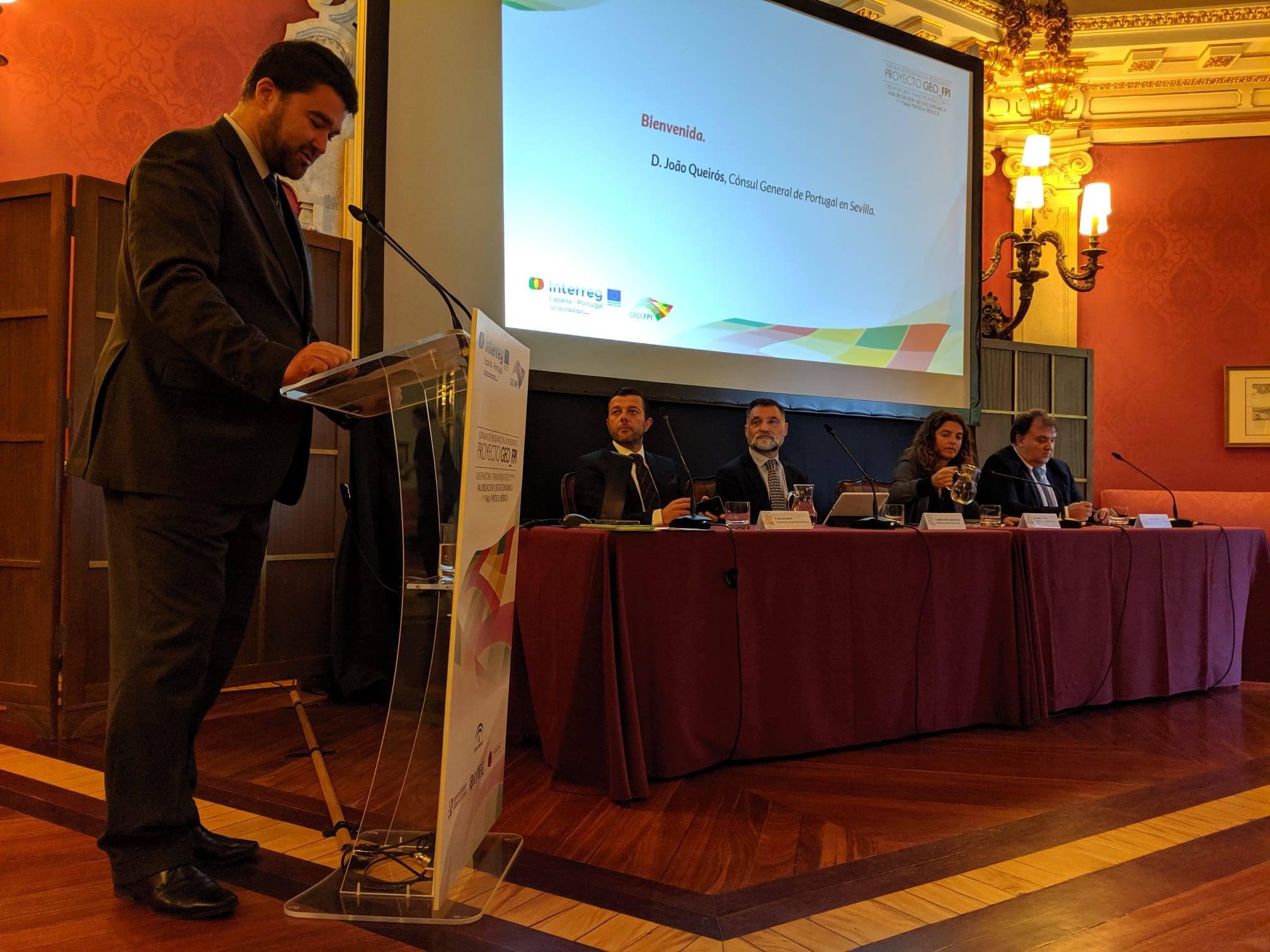 Jornada de Encerramento do Projeto GEO_FPI - Observatório Transfronteiriço para a Valorização Geo-Económica da Faixa Piritosa Ibérica