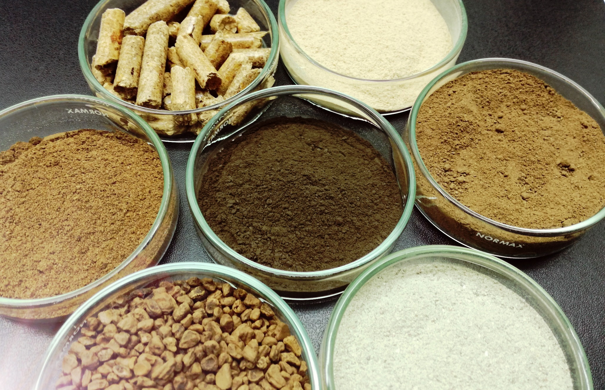 Solid biofuel and biomass