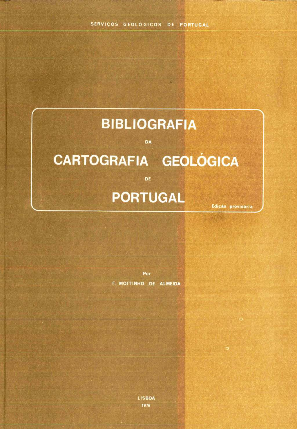 Bibliografia da Cartografia Geológica de Portugal