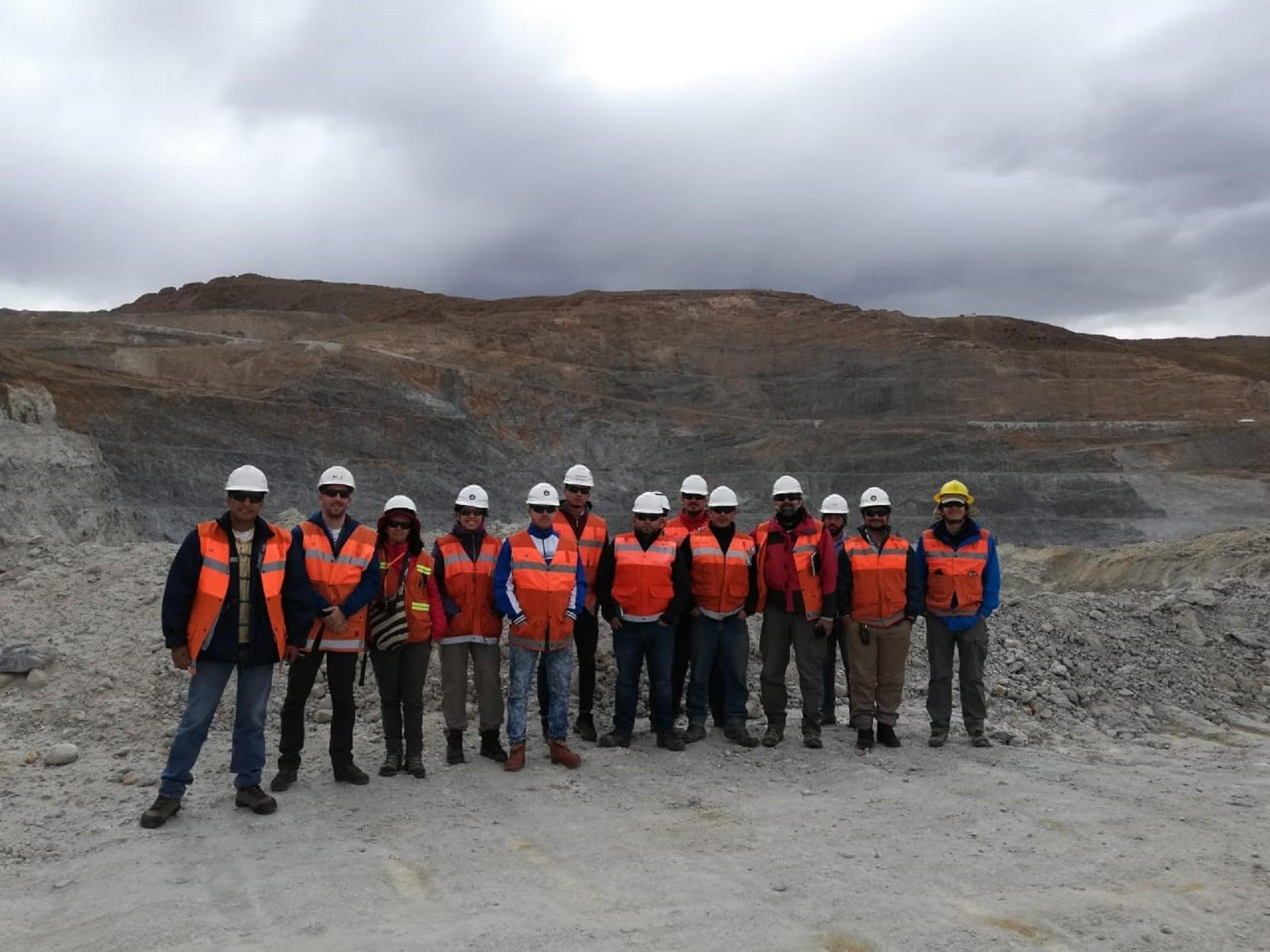 Visita do grupo de trabalho aos Andes Argentinos