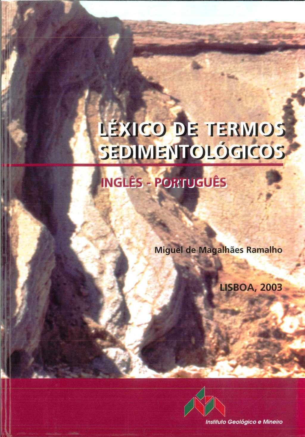 Léxico de Termos Sedimentológicos, Inglês-Português