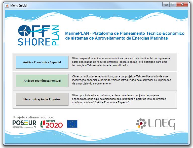 MarinePlan - Página de entrada da plataforma
