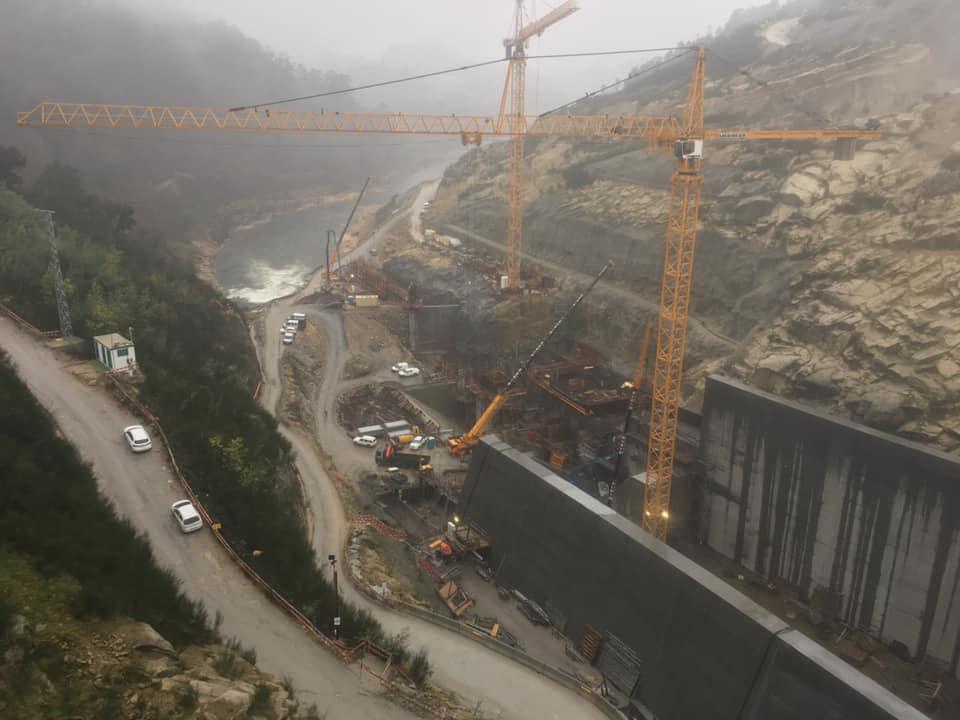 Primeiro Ministro e Ministro do Ambiente e da Ação Climática visitaram o Complexo Hidroelétrico do Tâmega