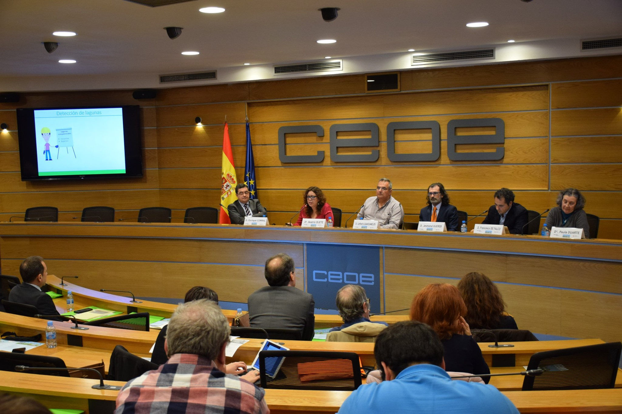 Final dissemination event for the BUS.TRAINERS project in Madrid