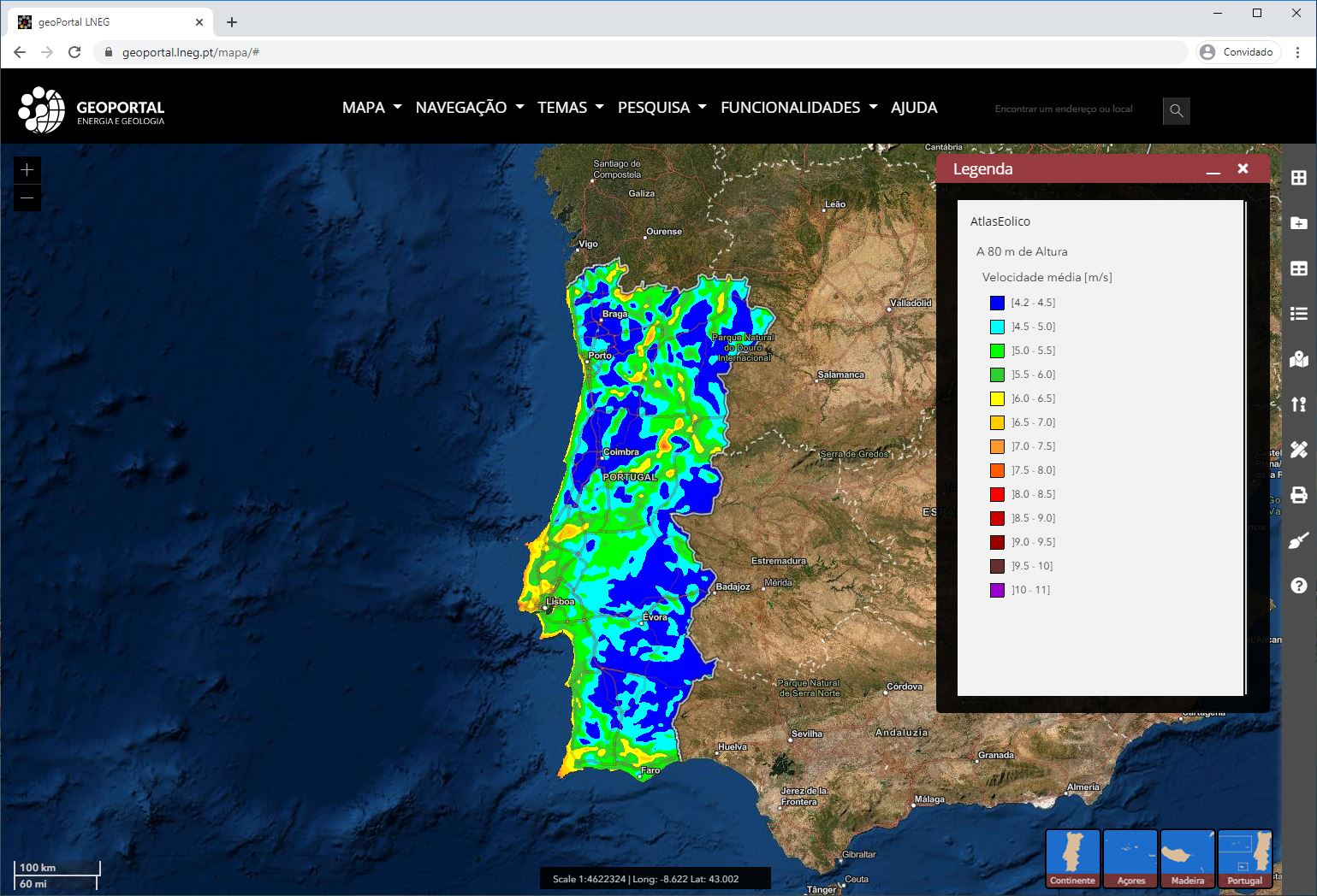 Geoportal - imagem