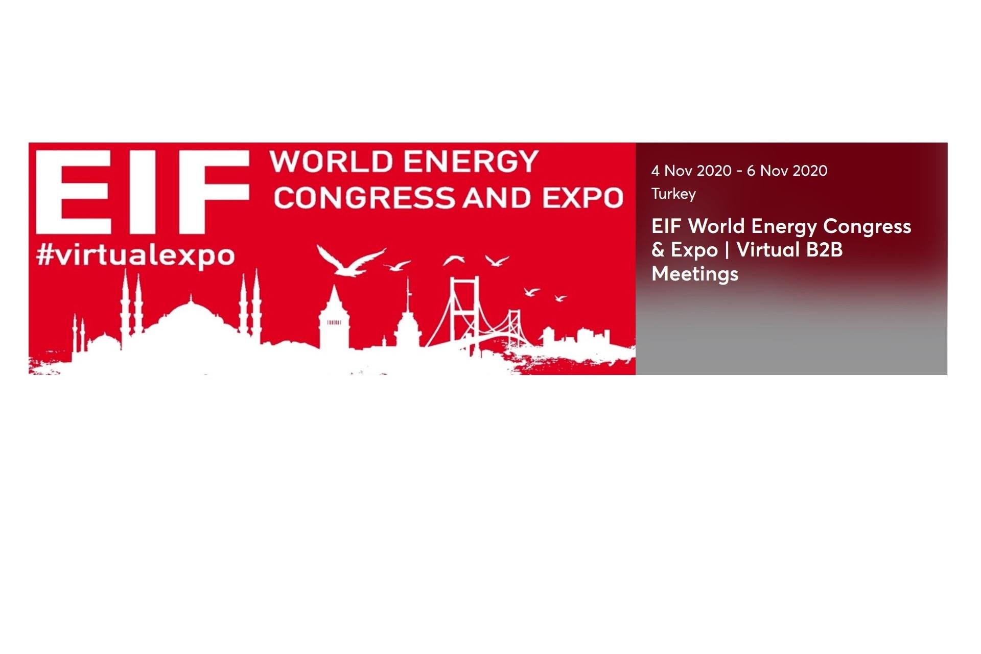 VIRTUAL MATCHMAKING EVENT EIF 2020 DIGITAL ENERGY CONGRESS & EXPO