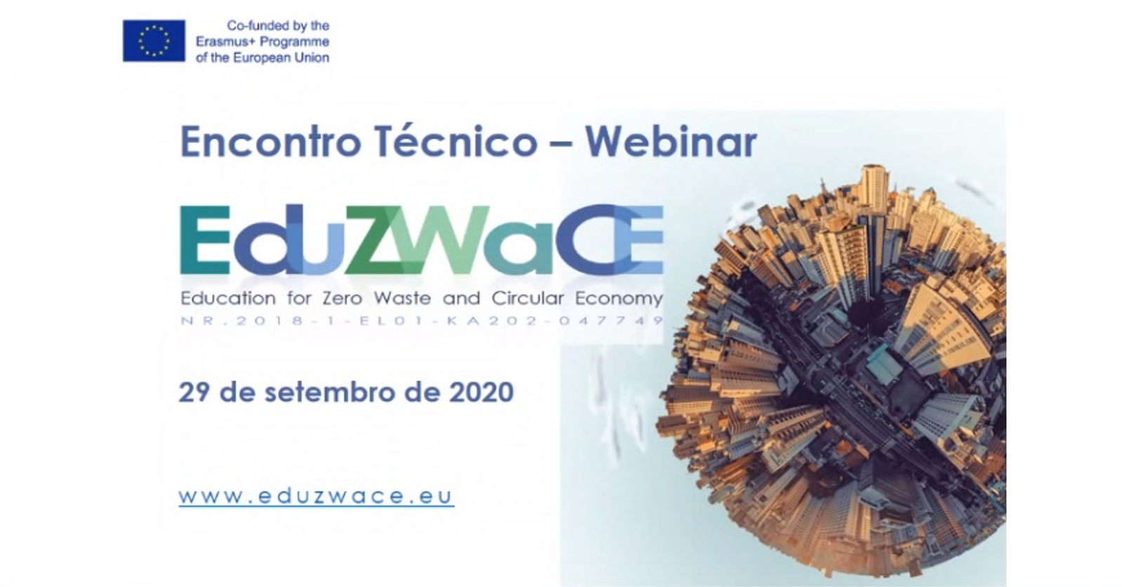EduZWaCE Project– Meeting trainers and experts - Webinar