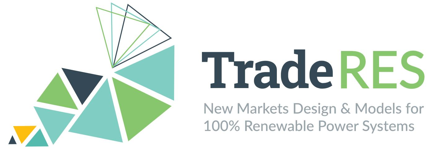 TradeRES<br>New Markets Design & Models for 100% Renewable Power Systems