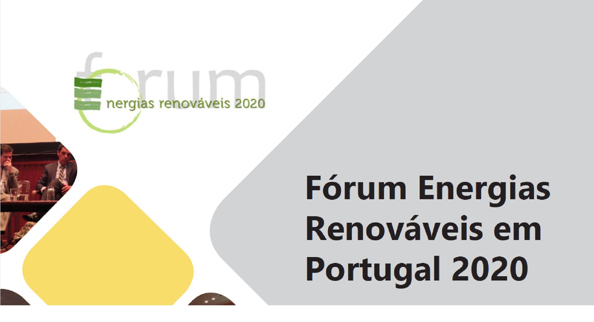 Capa - Fórum Energias Renováveis em Portugal 2020