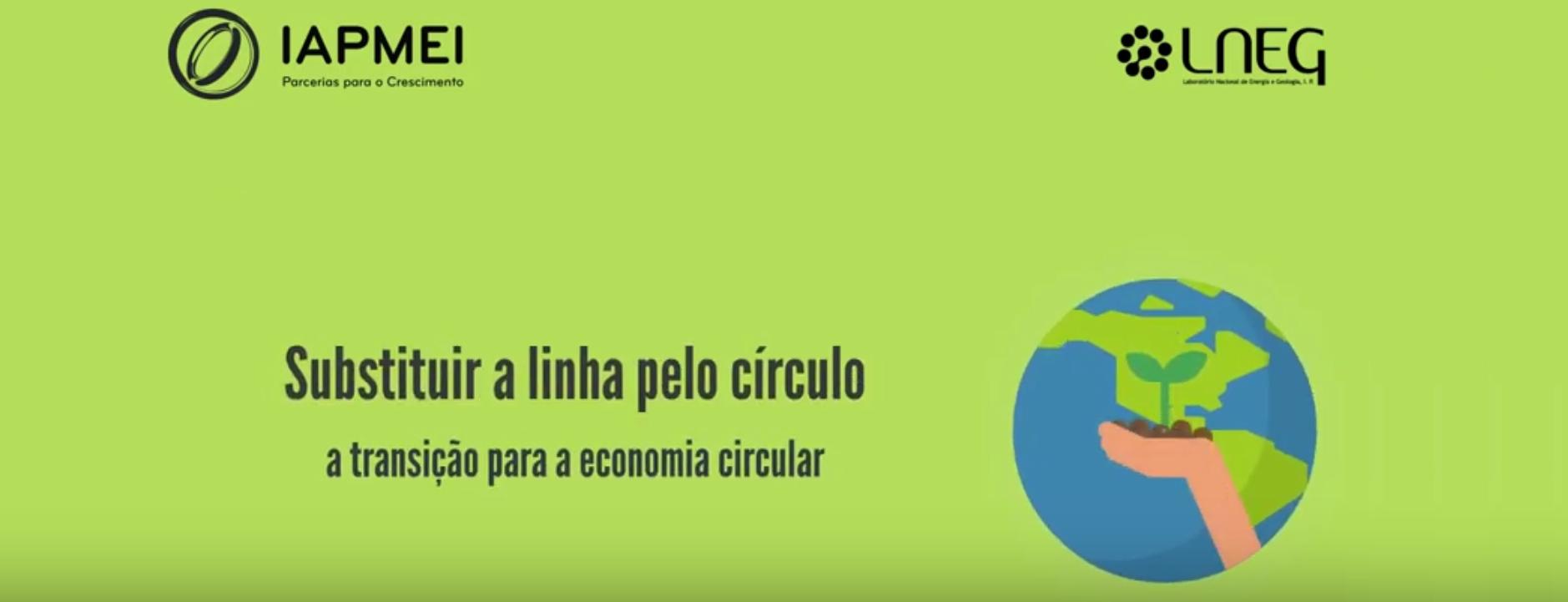 Substituir a linha pelo círculo | A transição para a Economia Circular