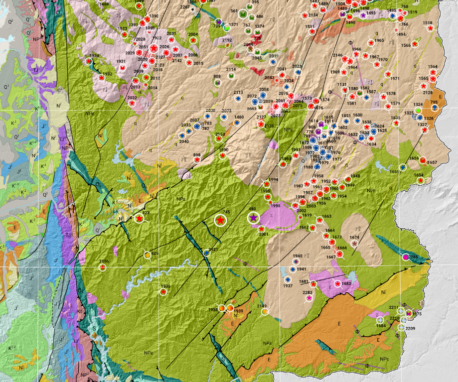 Mineral resource mapping