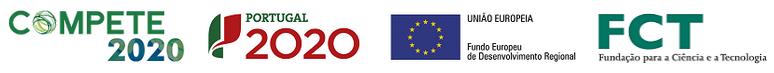 Logos Compete2020, Portugal2020, UE-FEDER, FCT