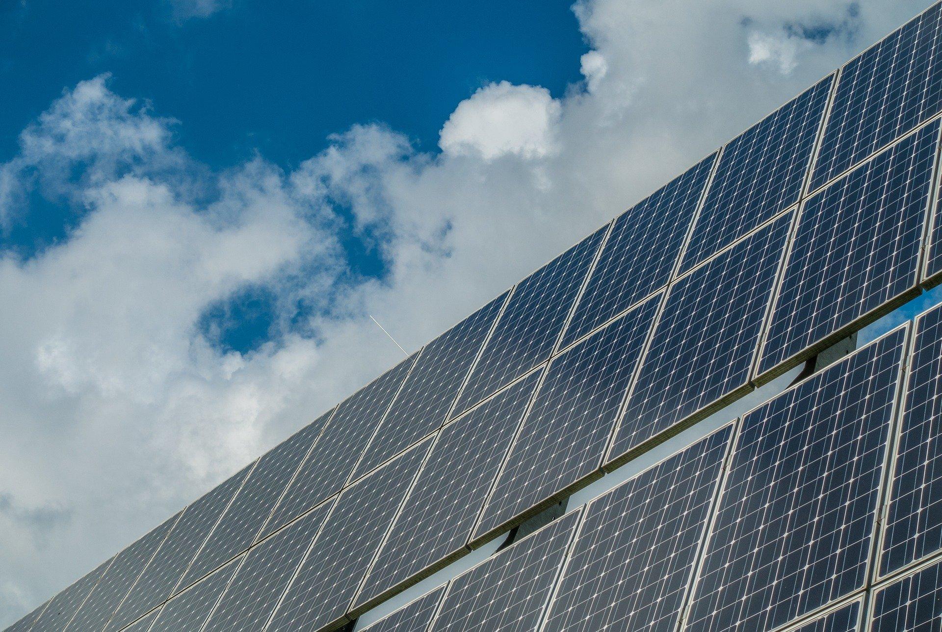 Imagem decorativa - Sistema fotovoltaico