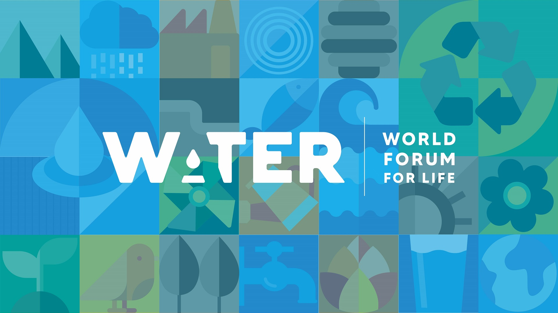 banner World Water Forum For Life