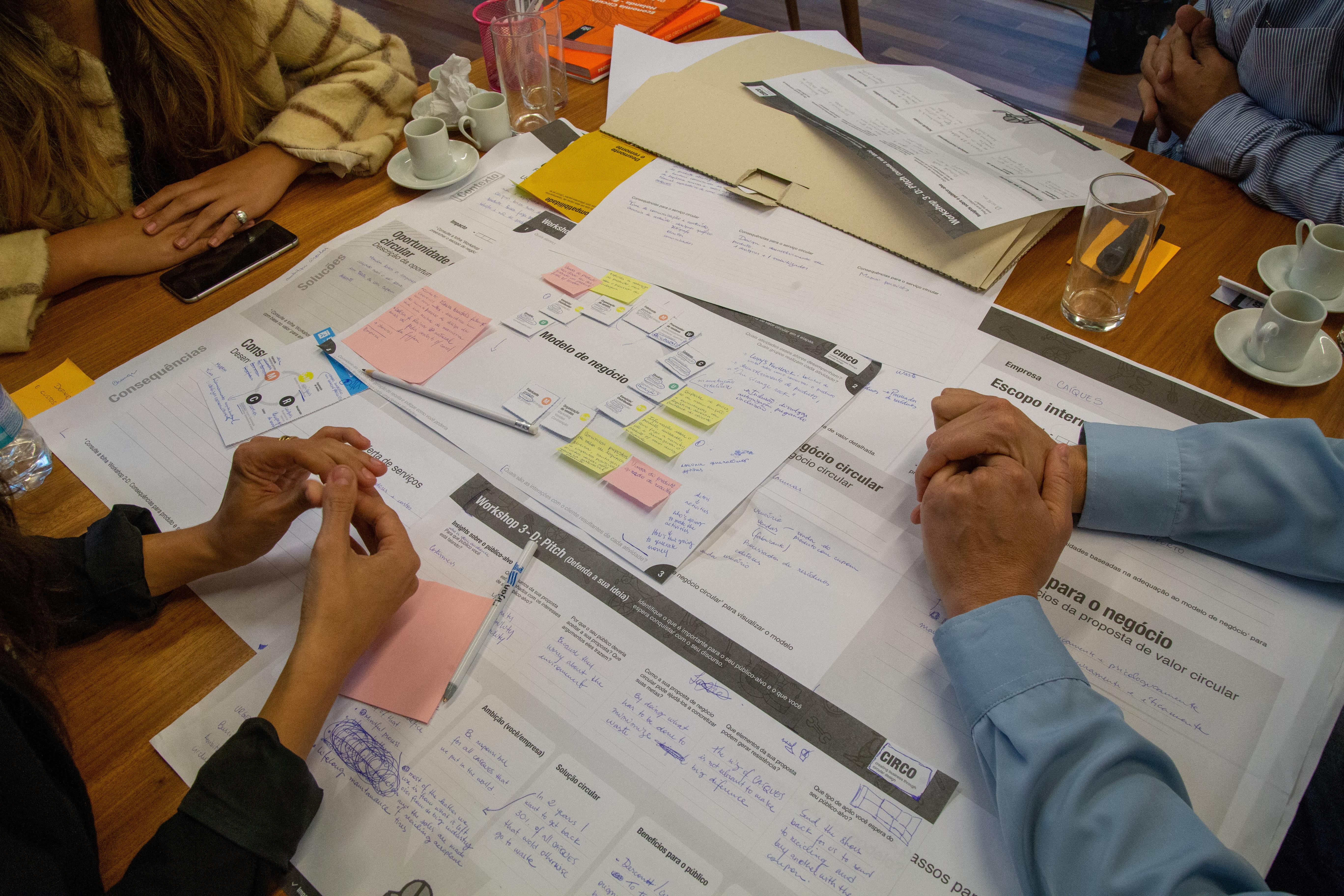 Imagem ilustrativa de Reunião sobre o tema da Economia Circular