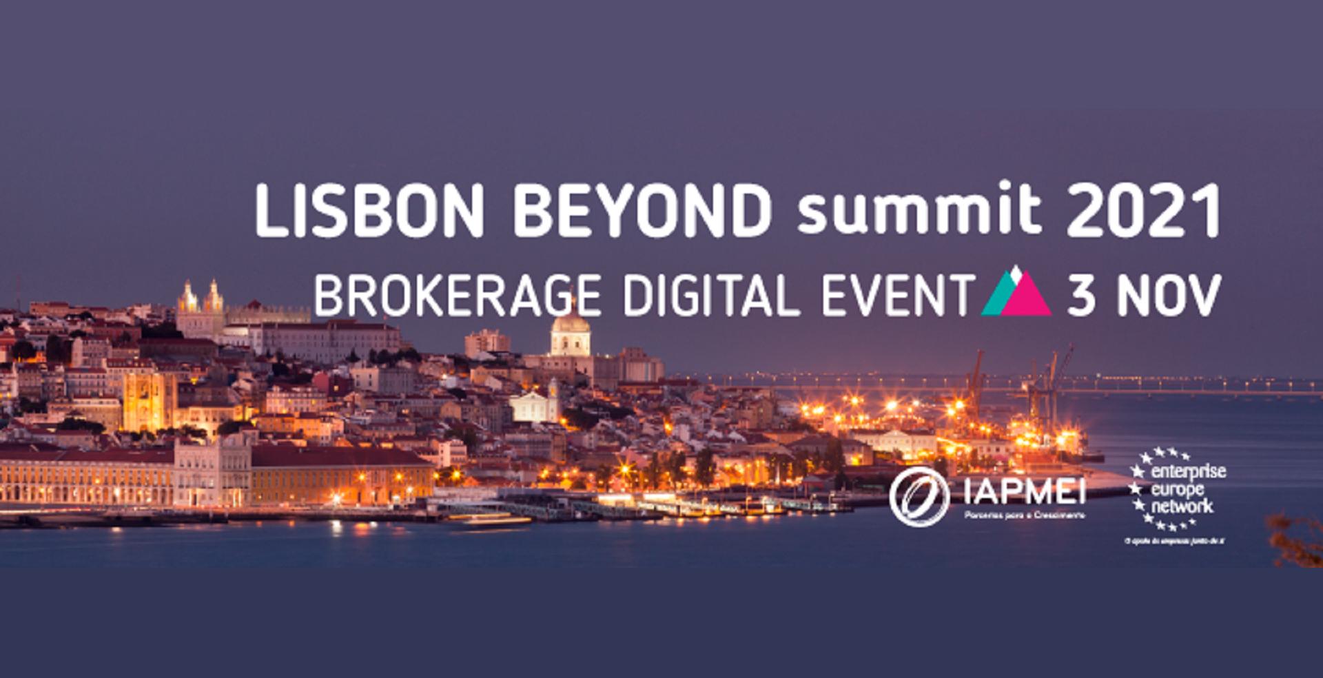 Banner - Briefly about Lisbon Beyond Summit 2021